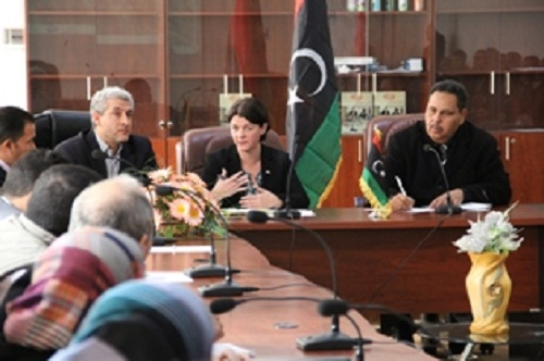 بريطانيا مستعدة للتعاون ليبيا الحدود