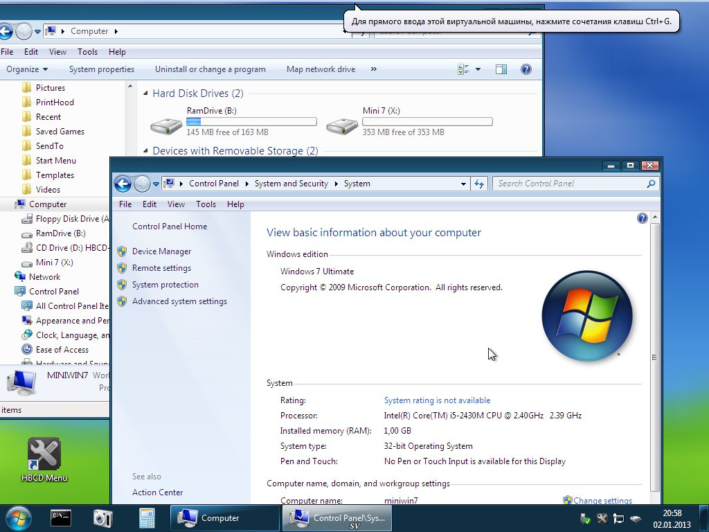 hirens boot 15.2 restored edition 2.0