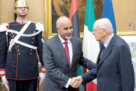 المقريف يزور إيطاليا لبحث عملية