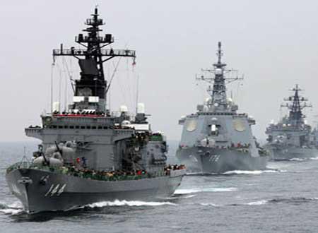 انطلاق مناورات كبرى للقوات البحرية