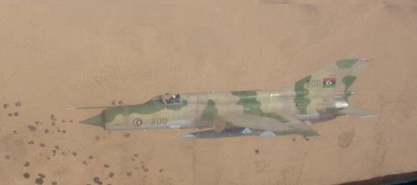 ليبيا تنفذ طلعات جوية لمراقبة