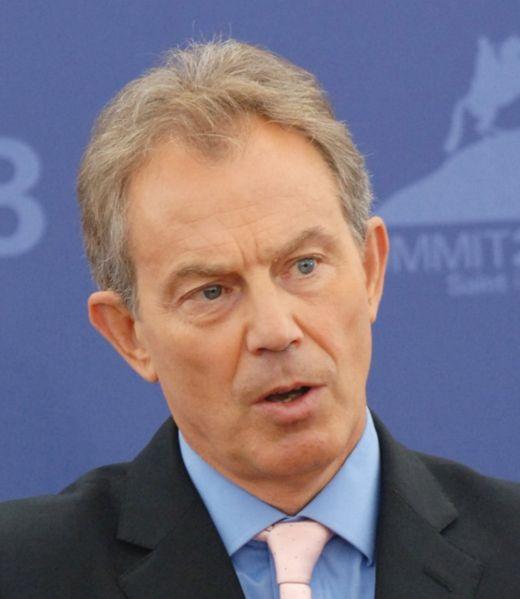 بلير يدعو بريطانيا التحرك القاعدة