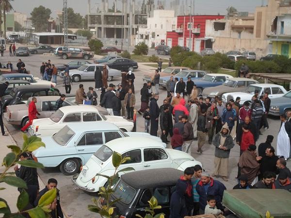 معرض للسيارات الكلاسيكية طرابلس