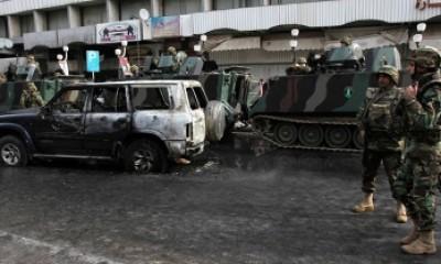 انفجار بمعقل لحزب الله جنوب