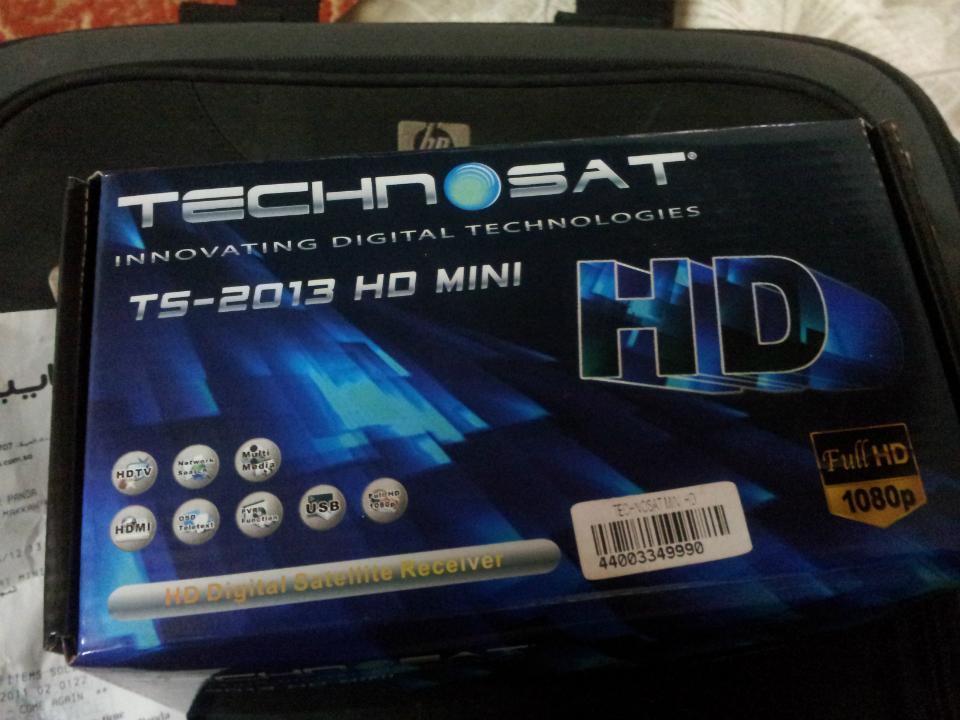 سوفتوير technosat ts-2013 بتاريخ 14-5-2012