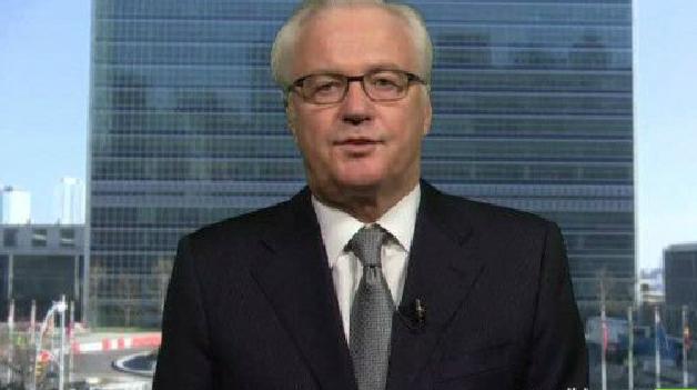 تشوركين: الوضع سورية أبرز القضايا