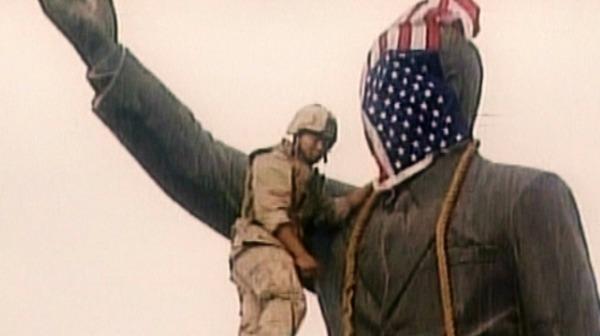 الاتصال الذي لإنزال أمريكا تمثال