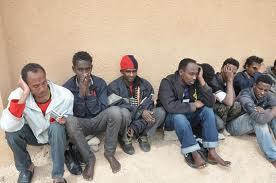 آلاف مهاجر نيجري معتقلون ليبيا