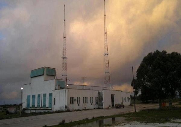 اعتداء إذاعة ليبيا الحرة البيضاء