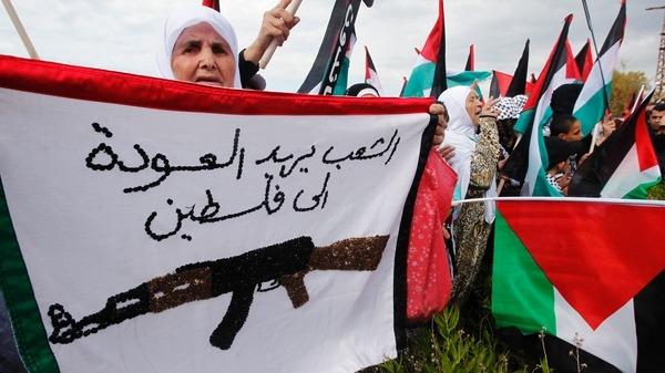 الفلسطينيون يحيون ذكرى النكبة الوطن