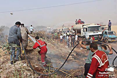 تجدد اندلاع الحرائق بالمنطقة الشرقية