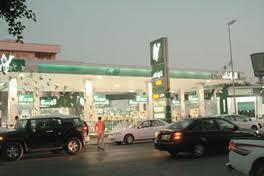 وزارة النفط زحام المواطنين محطات