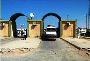 القوات الأمنية تغلق معبر مساعد