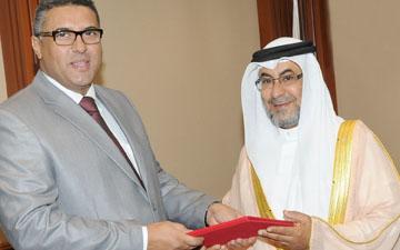 فوزي العال سفيراً لليبيا مملكة