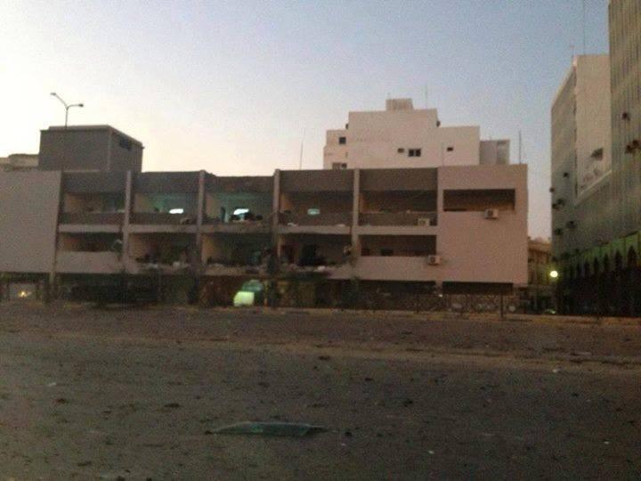 انفجار مدينة بنغازي الإفطار
