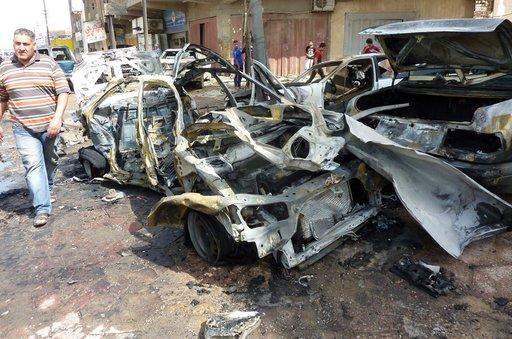 قتيلا وعشرات الجرحى سلسلة تفجيرات