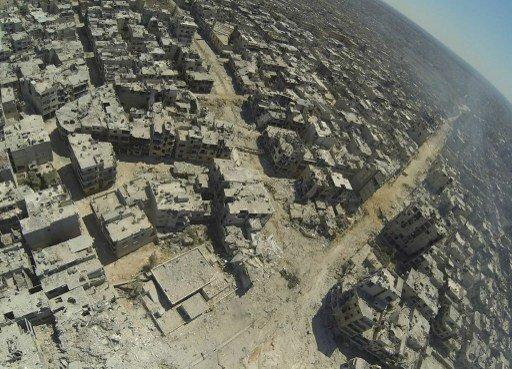 التلفزيون السوري يعرض سيطرة الجيش