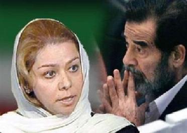 صدام حسين سعيدة بمقاتلي والدي