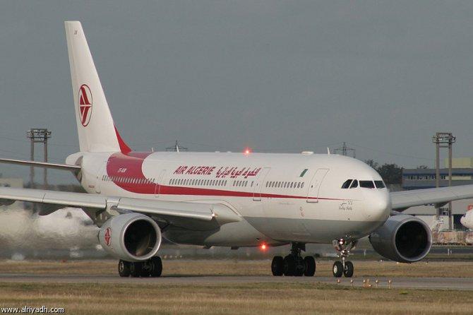 تحطم طائرة ركاب جزائرية اليوم