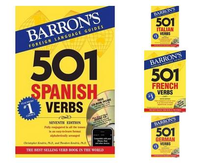 Barron's Verbs: French, Spanish, Italian,