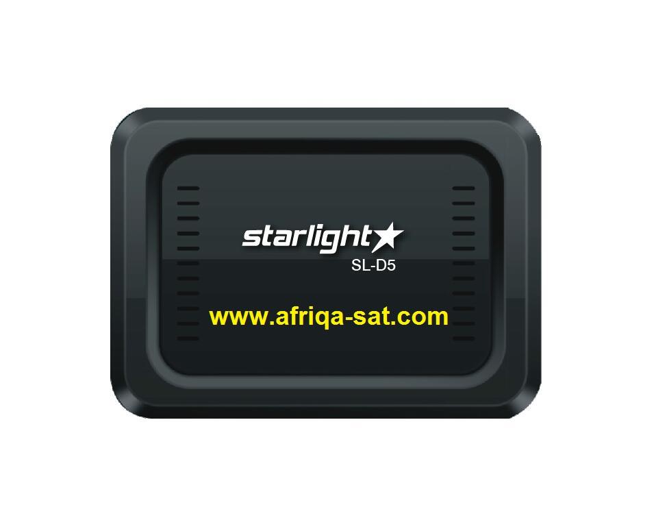 تحديث جديد لجهاز STARLIGHT SLD5